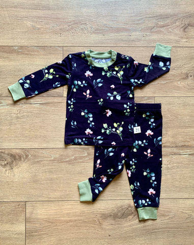 Long Sleeve Pajama Set- Francis Floral