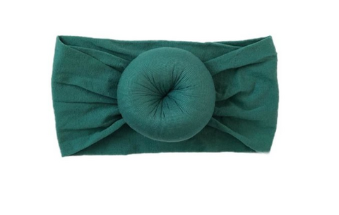Emerald Knot Headband