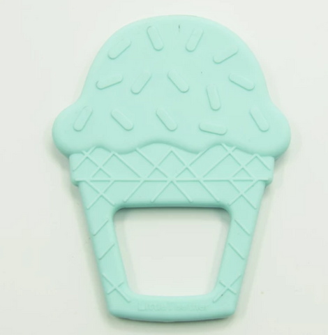 Ice Cream Teething Toy- Aqua