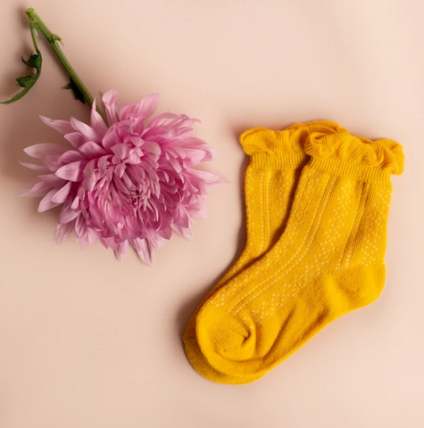 Anklet Socks- Yellow