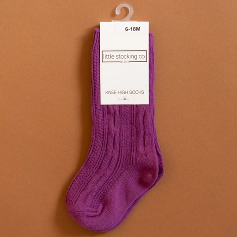 Willowherb Knee High Socks