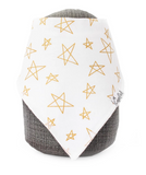 Copper Pearl Single Bandana Bib- Paris