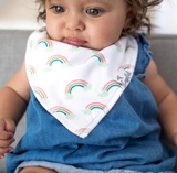 Copper Pearl Single Bandana Bib- Whimsy