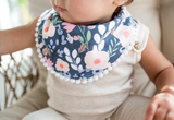 Copper Pearl Single Fashion Trimmed Bib- Audrey