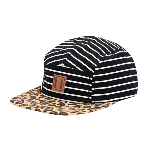 Beau Hudson Stripes and Leopard Kids Cap