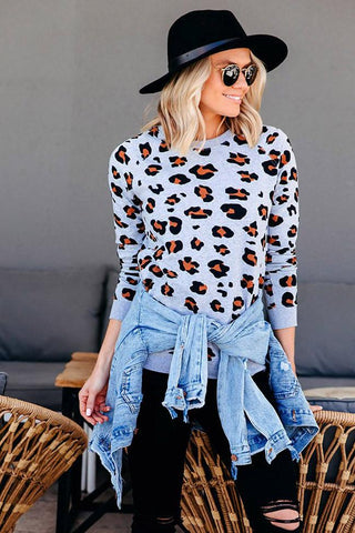 Beau Hudson Leopard Sweater - Adults