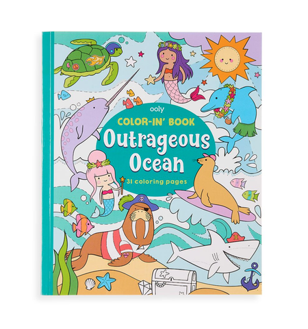 Color-in' Book- Outrageous Ocean