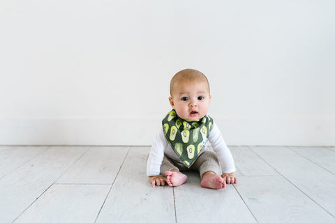 Copper Pearl Single Bandana Bib - Baja