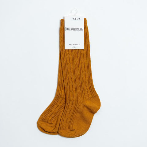 Butterscotch Knee High Socks