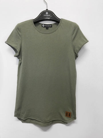 Beau Hudson Raw Edge Military Tall Tee- Kids