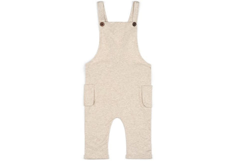 Organic Cotton Overall-  Heathered Oatmeal