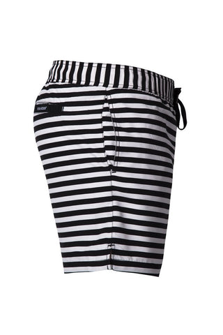Beau Hudson Stripe Swim Shorts- Adult