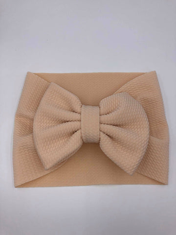 The Perfect Bow Headwrap - Cream-DISCONTINUED STYLE