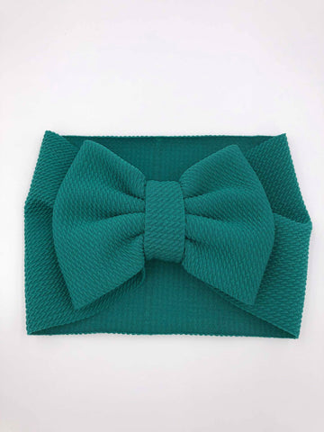 The Perfect Bow Headwrap - Emerald