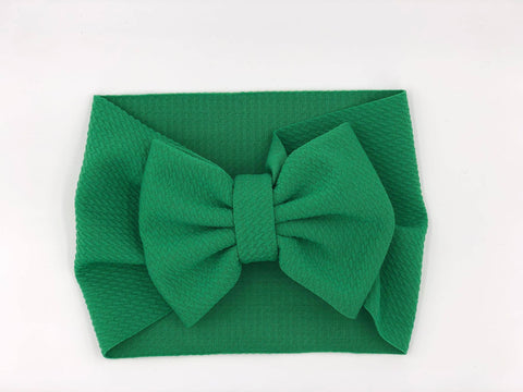 The Perfect Bow Headwrap - Green