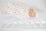 Copper Pearl Knit Swaddle Blanket- Summer