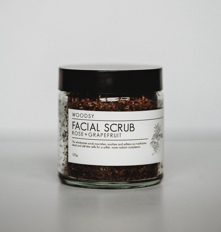 Facial Scrub - Rose & Grapefruit