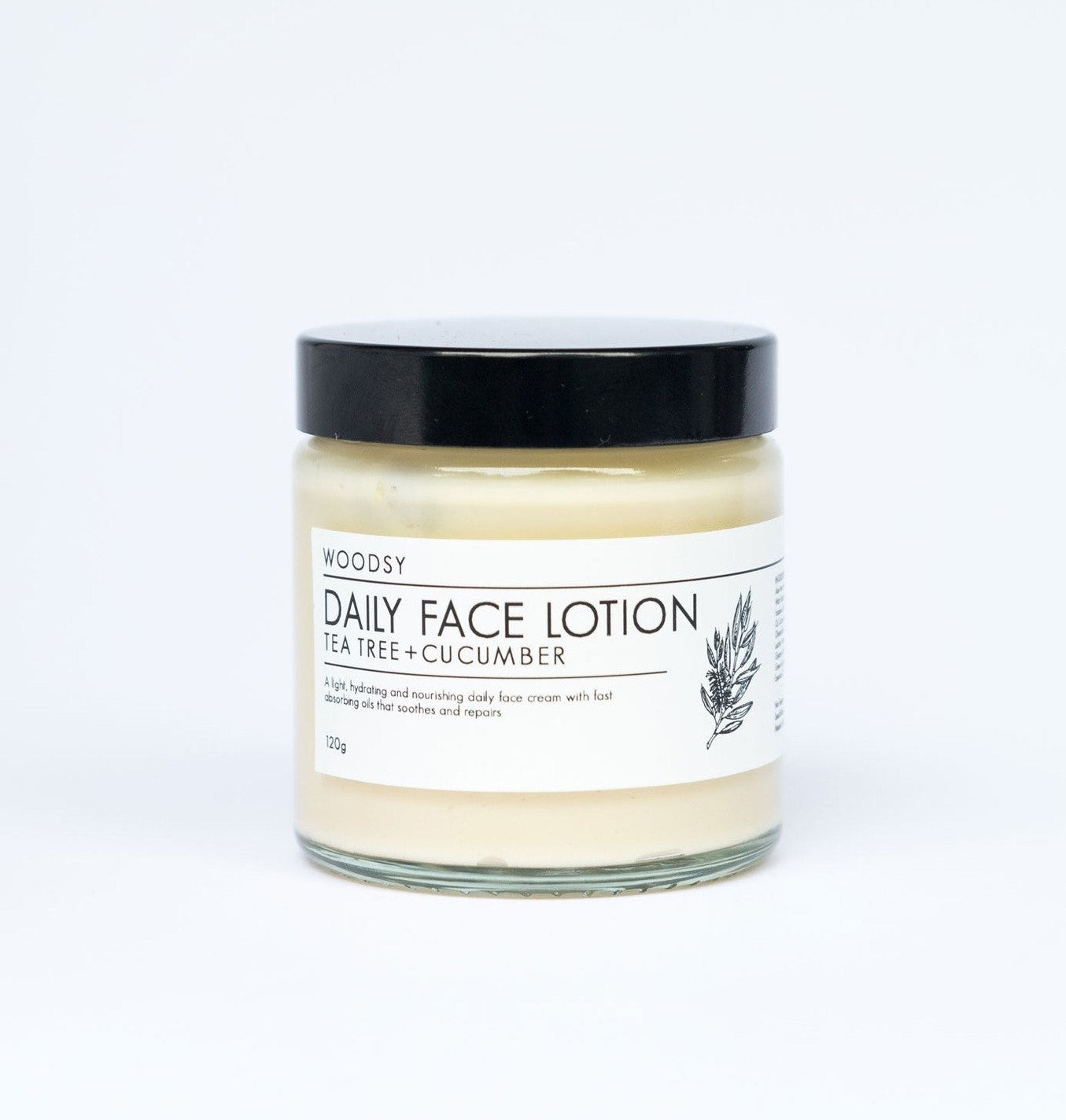 Daily Face Lotion - Tea Tree & Cucumber