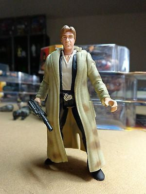 Star Wars POTF2 Han Solo Trench Coat Loose