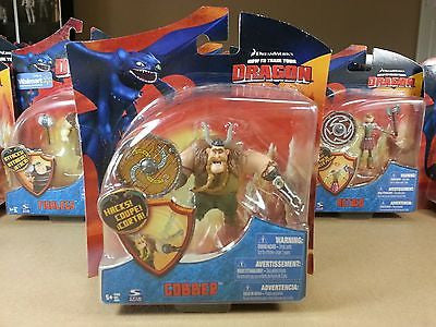 "Spin Master 2010 How to Train Your Dragon 4"" Gobber Series 3 Clamp Hand Variant"