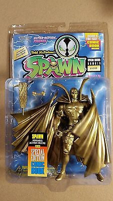 Series 1 - 1994 McFarlane Spawn GOLD variation Action Figure