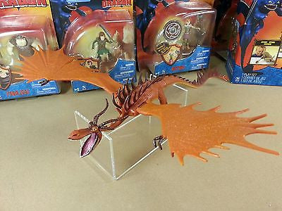 "Spin Master 2010 How to Train Your Dragon 7"" Monstrous Nightmare Series 2 HTF!!"