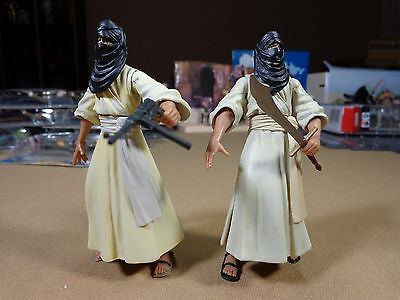 Indiana Jones Raiders of the Lost Ark Cairo Swordsman x2 Action Figure