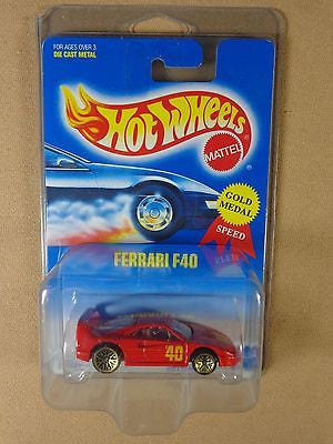 HOT WHEELS #69 1994 FERRARI F40 1:64 DIE-CAST