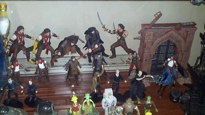 McFarlane Toys PRINCE OF PERSIA action figure set, horse and playset