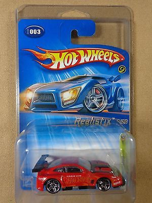 HOT WHEELS #003 2005 FIRST EDITIONS REALISTIX FERRARI 575 GTC 1:64 DIE-CAST 3/20