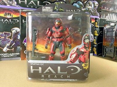 McFarlane HALO REACH Series 2 Spartan CQC custom RED MOC