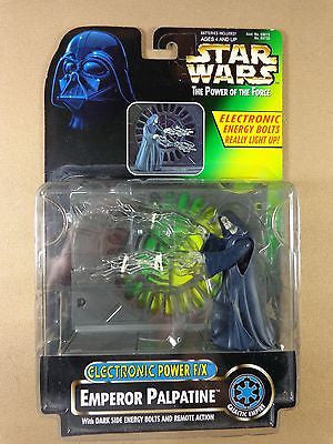 Star Wars Power of the Force Emperor Palpatine Power FX action figure