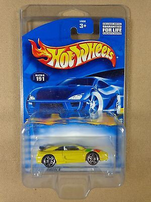 HOT WHEELS #191 2001 FERRARI F355 1:64 DIE-CAST