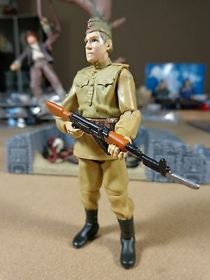 Indiana Jones Kingdom of the Crystal Skull Russian Soldier Action Figure