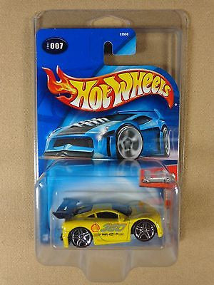 HOT WHEELS #007 2004 FIRST EDITIONS FERRARI 360 Modena 'Tooned 1:64 DIE-CAST