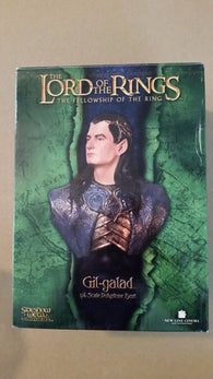 Lord of the Rings Sideshow Weta Gil-Galad Bust - NEVER DISPLAYED