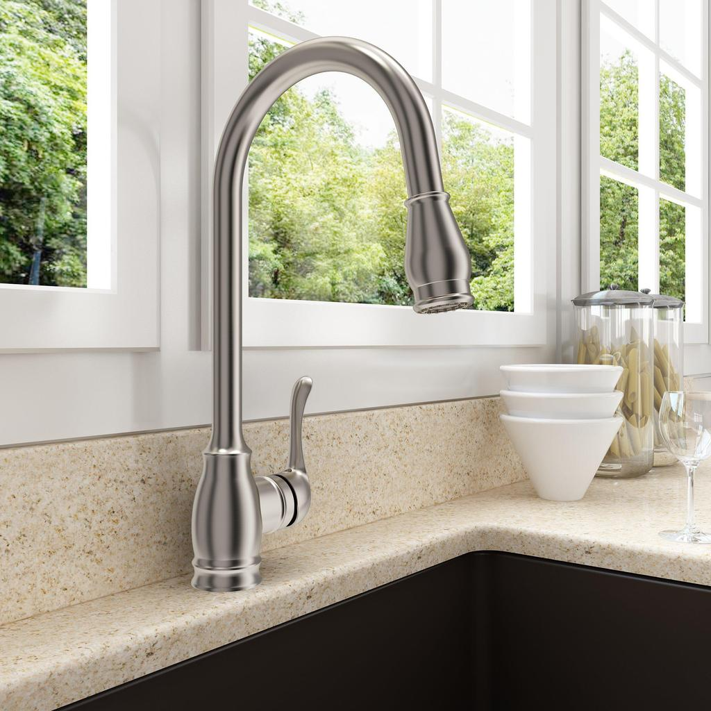 The Best Faucets For Your Farmhouse Kitchen Sink Annie Amp Oak