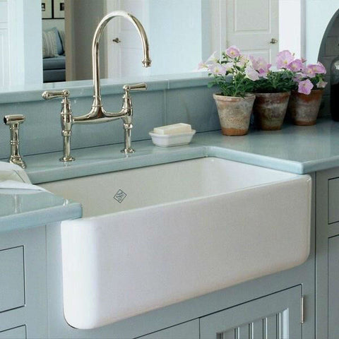 Rohl Lancaster Fireclay Farmhouse Sink 30 inch