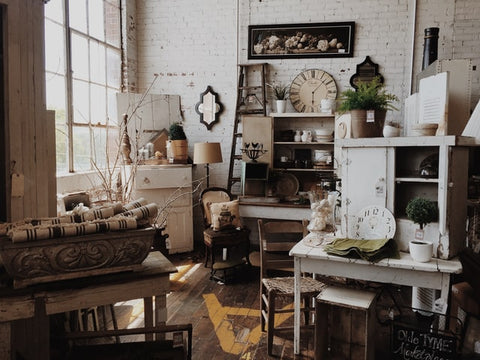 Quaint vintage interior