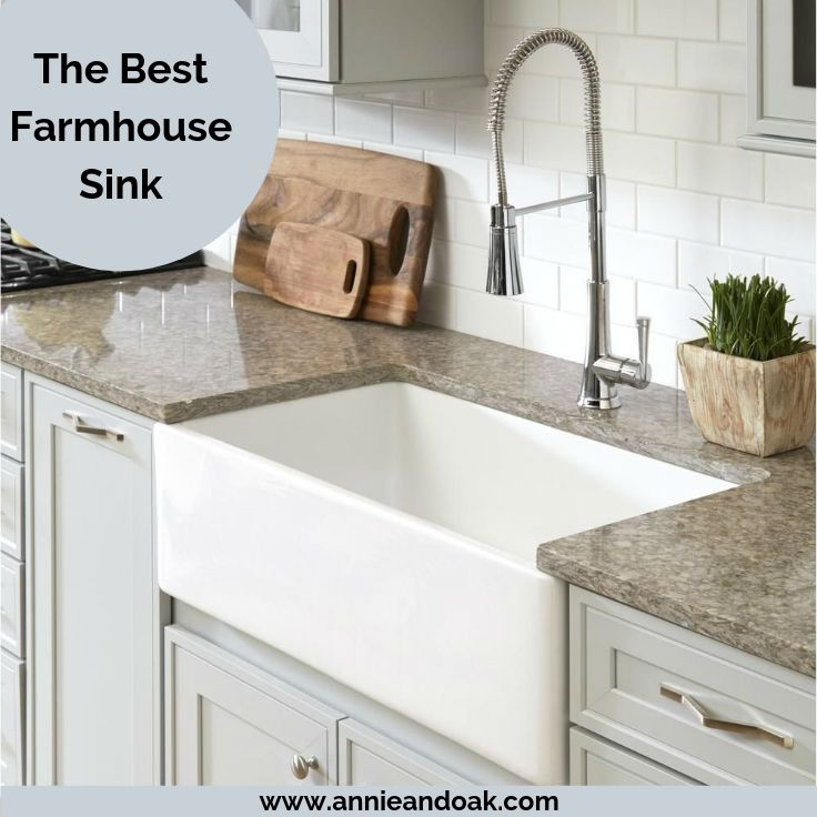 Best Farmhouse Sink 1 Pick Material Guide 2020 Review Annie Oak