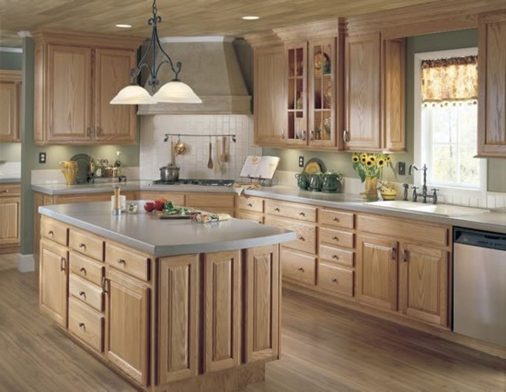 Wood Farmhouse Kitchen