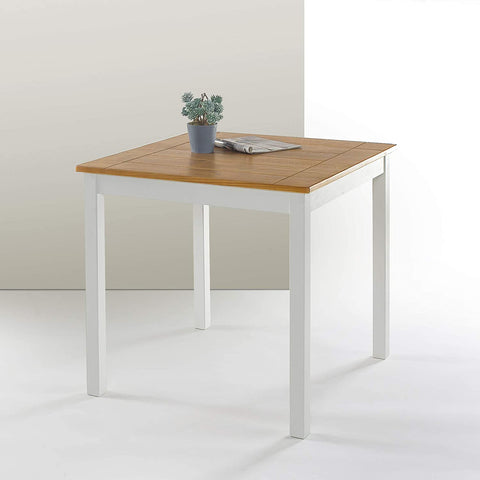 Zinus Becky Square Wood Dining Table