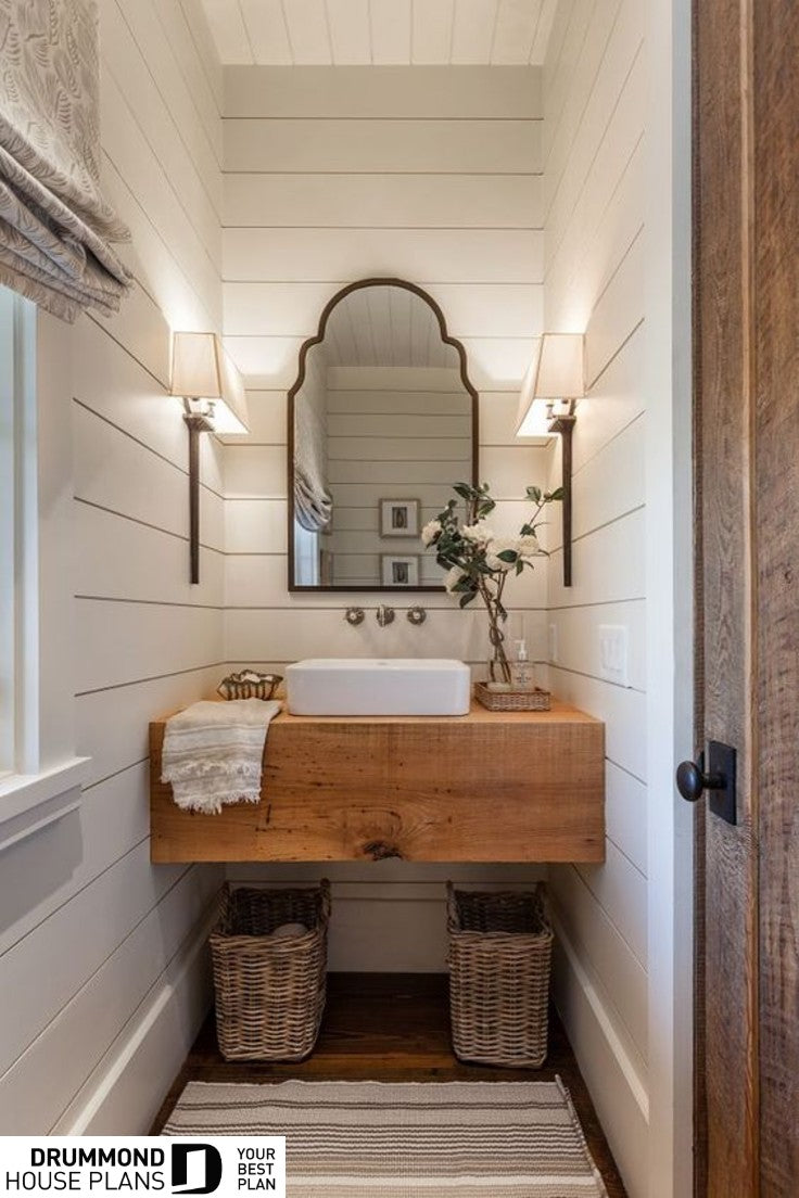 drummondhouseplans best modern farmhouse award