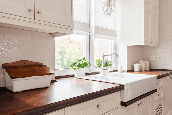 farmhouse countertops and surfaces