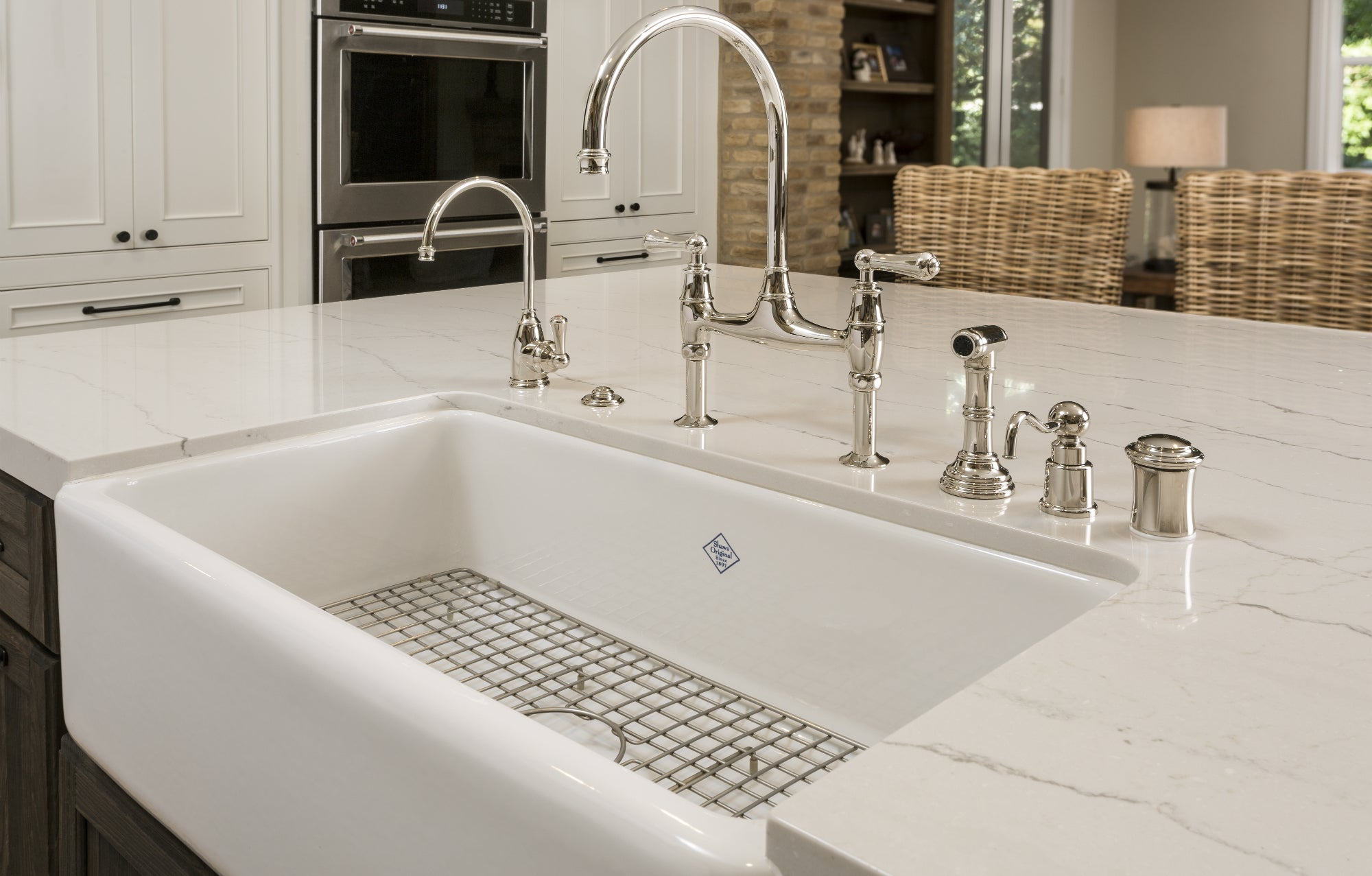 How To Install A Farmhouse Sink 6 Easy Steps Updated 2020 Annie Oak