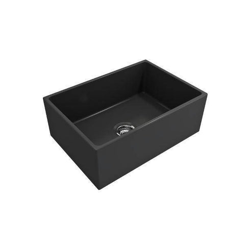 Bocchi Contempo 27 Fireclay Farmhouse Sink Single Bowl w/ Grid-Annie & Oak
