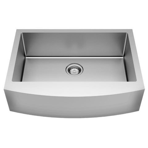 "American Standard Pekoe 30"" Stainless Steel Single Bowl Farmhouse Sink w/ Grid - Annie & Oak"