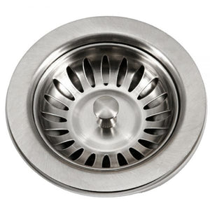 "Houzer 190-9180 3.5"" Stainless Steel Basket Strainer-Annie & Oak"