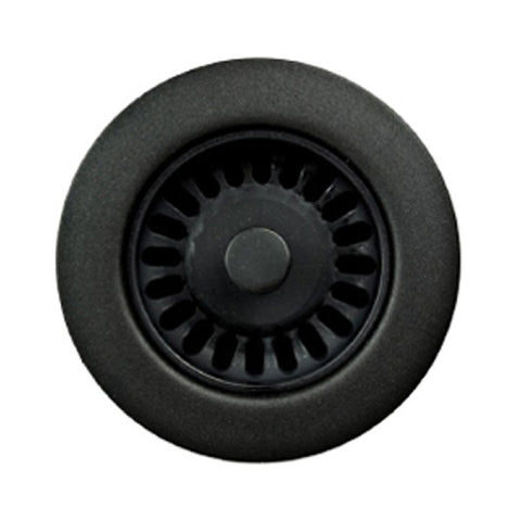 "Houzer 190-9565 3.5"" Black Plastic Disposal Flange"