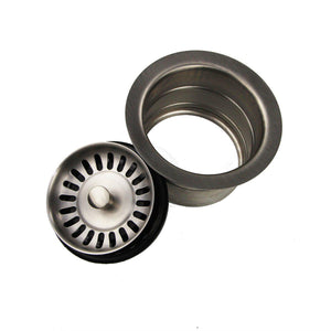 "Nantucket 3.5"" Stainless Steel Extended Kitchen Disposal Flange  3.5EDF - Annie & Oak"